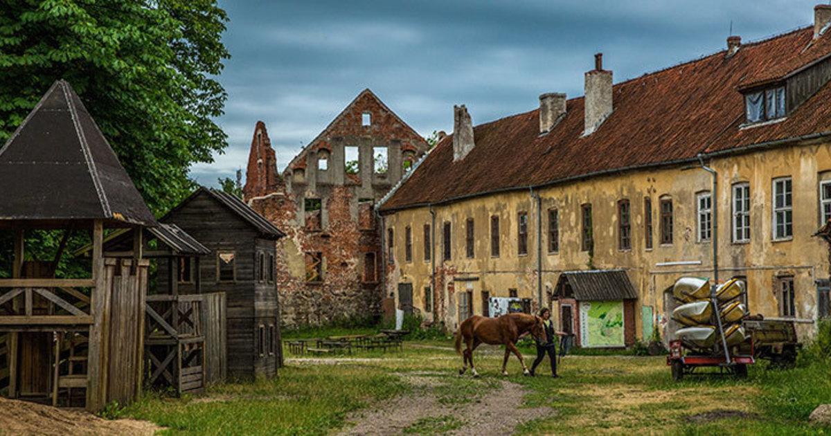 """Экскурсия в замок """"Инстербург""""."""