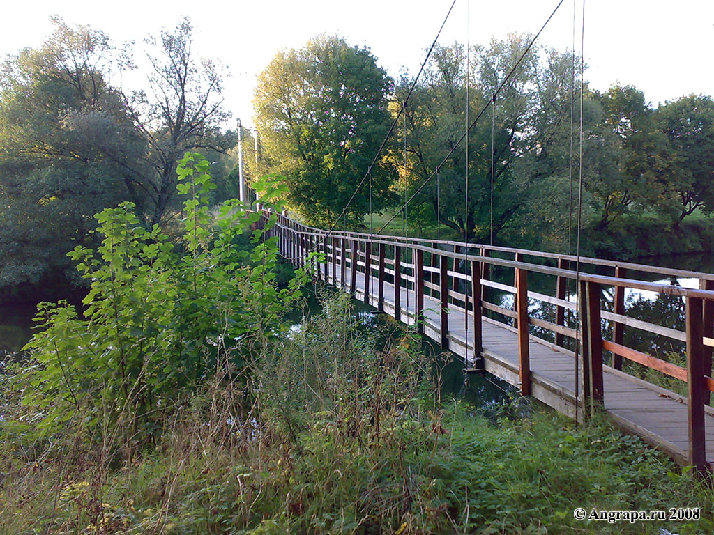 Ремонт подвесного моста идет полным ходом!