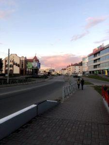 Вечер в городе – Черняховск